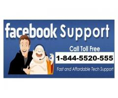 Resolve Facebook Technical Issues by Calling at 1-844-5520-555