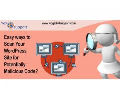 Easy ways to Scan Your WordPress Site for Potentially Malicious Code