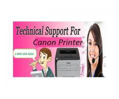Canon Printer Support Canada Toll-Free Number  1-855-253-4222