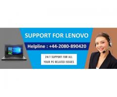 Contact Lenovo Support UK for Technical Help +44-2080-890420