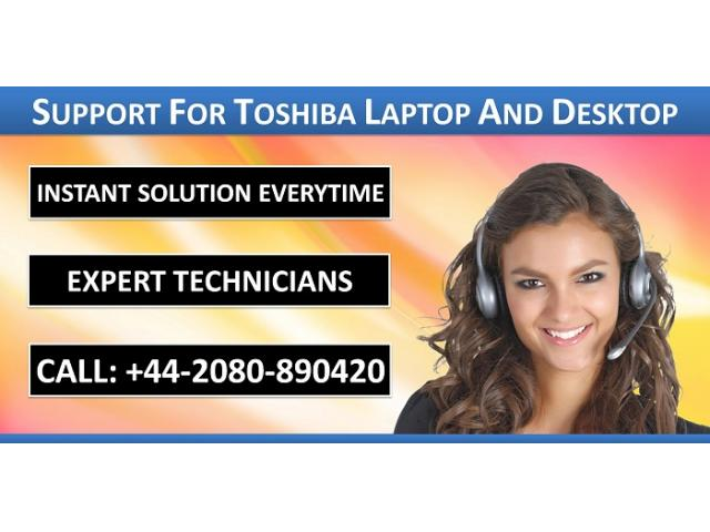 Call Toshiba Support Number +44-2080-890420 for Technical Solution