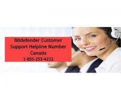 Bitdefender Support Phone Number Canada 1-855-253-4222