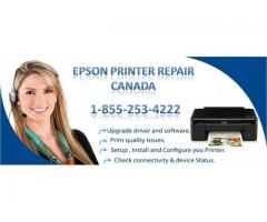 Epson Repair Helpline Number Canada: 1-855-253-4222
