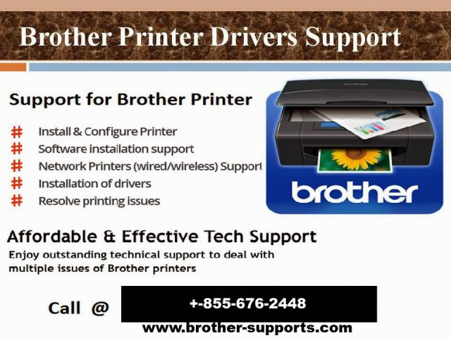 How To Fix Paper Jam In Brother Printer Call Us +1-855-676-2448
