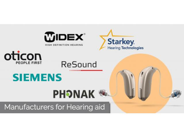 Top Six Hearing Aid Manufacturers