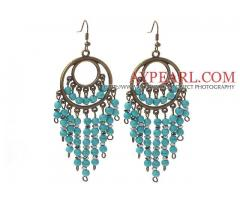 Vintage Style 4mm Turquoise Earrings is sold at US$ 2.83