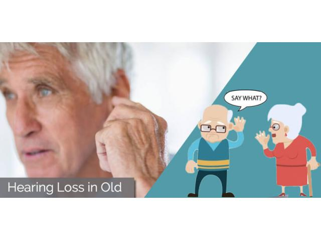 Age-Related Hearing Loss In Older