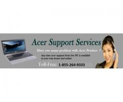 Acer Support Canada Helpline Number 1-855-264-9333