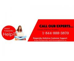Do you want Kaspersky support? Dial 1-844-888-3870