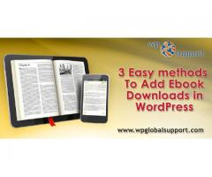 3 Easy methods to Add Ebook Downloads in WordPress