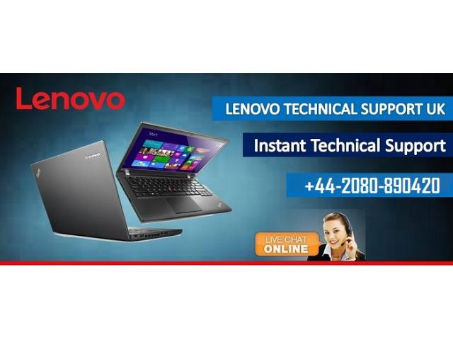 Call Lenovo Helpline Number +44-2080-890420 for Support