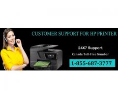 HP Printer Tech Support Canada Toll-Free Number 1-855-687-3777