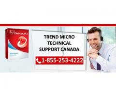Call Trend Micro Technical Support Number Canada 1-855-253-4222