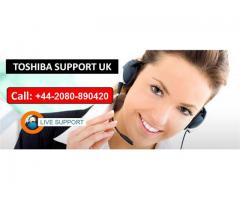 Dial Toshiba Support Helpline Number +44-2080-890420
