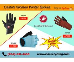 Big Offer on Castelli Women Gloves by Classic Cycling – Winter Clearance