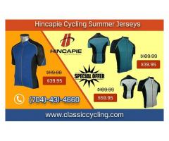 Summer Sale 2019 - Hincapie Men Cycling Jersey by Classic Cycling