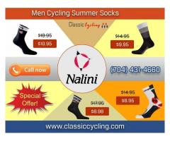 Exclusive Offer on Nalini Men Summer Cycling Socks – Classic Cycling