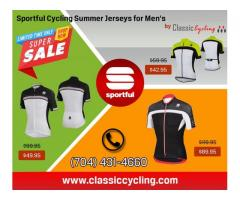 Up to 50% Discount on Sportful Men's Cycling Summer Jerseys at Classiccycling.com