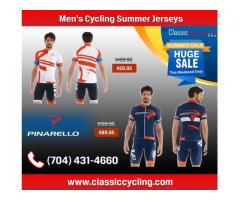 2019 Summer's Biggest Discount on Pinarello Men's Cycling Jerseys at Classiccycling.com
