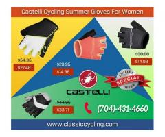 Exclusive Offer on Castelli Women's Summer Gloves at Classiccycling.com – Up to 50% OFF