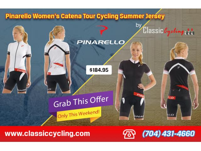 Top Branded Women's Cycling Summer Jerseys Including Pinarello, Giordana, Nalini - Only One Week