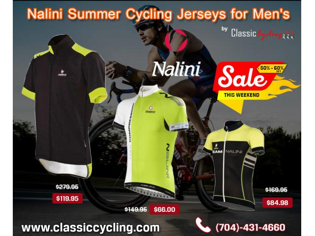 Nalini Summer Cycling Jerseys for Men | Factory Direct + Free Shipping Over $49.99